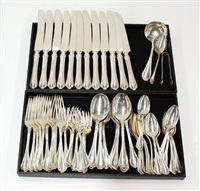 flatware service in paul revere pattern (set of 68) by towle silver