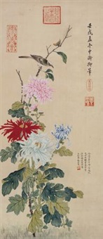 秋菊小雀 by empress dowager cixi
