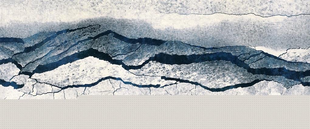 山水裂变 fissiled landscape by qiu deshu