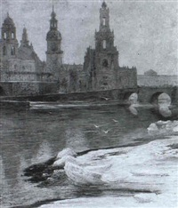 winterliches dresden by paul geissler