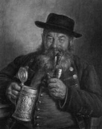 bauer mit pfeife by h. melkus