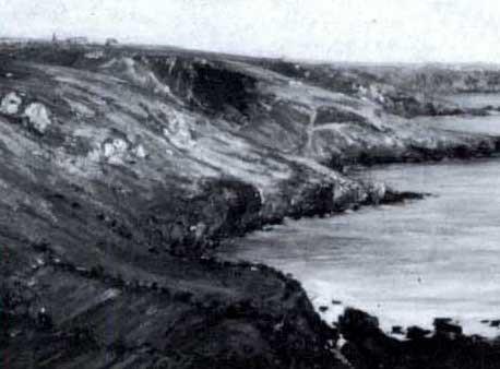 coastal scene by louis françois cabanes