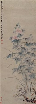 花卉 (flowers) by qian zai
