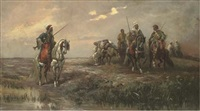 nomads (after adolf schreyer) by frederick von luerzer