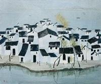 水乡 by wu guanzhong