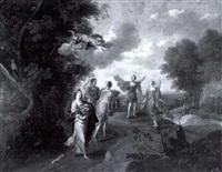 herse approaching mercury by geex delavallee