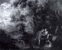 venus and adonis by geex delavallee
