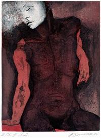 torso (portfolio of 9 w/colophon) by erich smodics