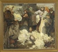 markttreiben by ivan aleksandrovich krylov