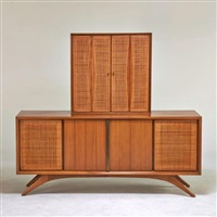 sideboard with matching top by vladimir kagan