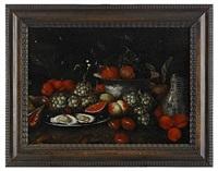 stilleben med ostron och frukter by jan pauwel gillemans the younger