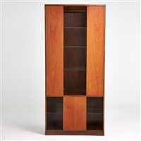 illuminated cabinet by harvey probber