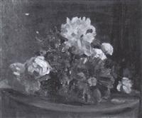 blumenstilleben by anna kollarits-iker