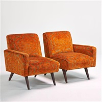 sofa chairs by paul mccobb