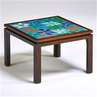 side table by harvey probber