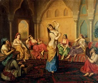 the harem dancer by sandor alexander svoboda