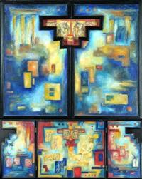 triptychon by heinrich volmer