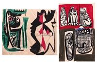 figurative abstraction by bedri rahmi eyuboglu