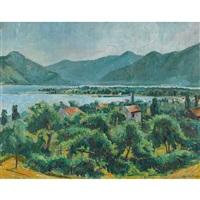sonniges maggia-delta by eugen ammann