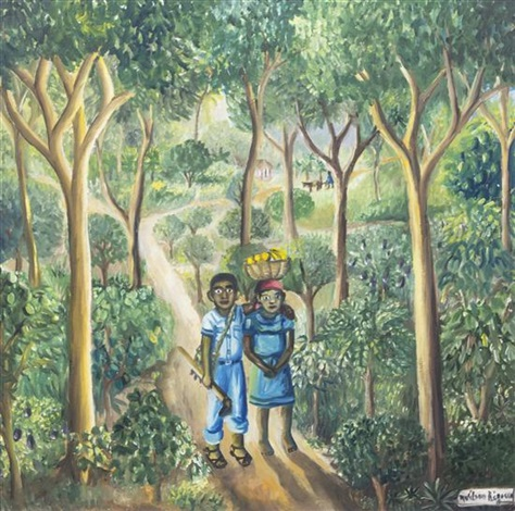 walk through the jungle by wilson bigaud