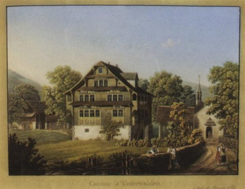 canton dunterwalden by  publisher birmann huber