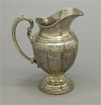 four pints water pitcher (royal windsor pattern) by towle silver