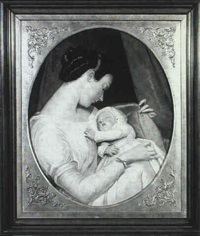 mother and child by charles cromwell ingham