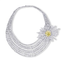 pendant/brooch (+ necklace; 2 works) by nirav modi