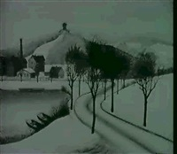 winterlandschaft by hans mertens