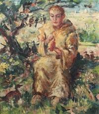 der heilige franz von assisi by josef steib