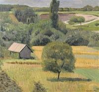 paysage avec gravière by charles felix appenzeller