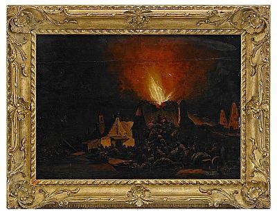 nattstycke hus i brand by daniel vosmaer