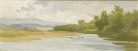 rives de l'aar by auguste bachelin