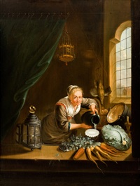 küchenmagd by gerrit dou