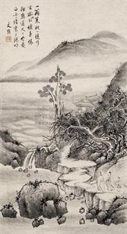 山水 (landscape) by wen dian