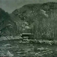 covered bridge by robert b. atwood