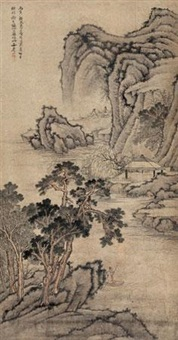 山水 (landscape) by luo xuan