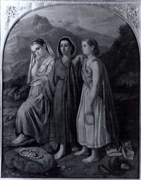 three maidens by c. fontana