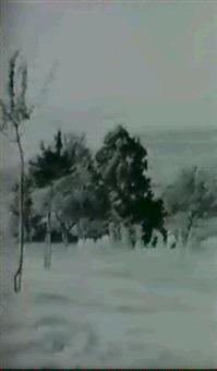 paysage vu de chatel sur rolle by albert rehfous