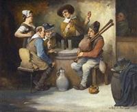 dudelsackpfeifer by leonhard wilhelm lehmann