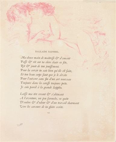 illustrationen der seiten 133 136 zu paul verlaines parallèlement 4 works by pierre bonnard