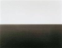 第勒尼安海 胶印 by hiroshi sugimoto
