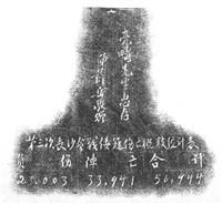 赠王宠惠第三次长沙会战战利品 (war trophy in the third battle of changsha dedicated to wang chonghui) by xue yue