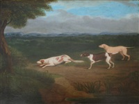 three hounds on a scent by james smyth