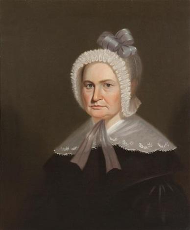 portrait of a lady by george caleb bingham