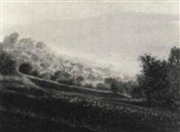 blick auf betzenrod im vogelsberg by paul eddie pfisterer