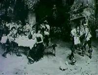 cavaliers merrymaking by domenico pennachini