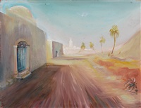 tunis (tunesische impression) by evelyn rodewald