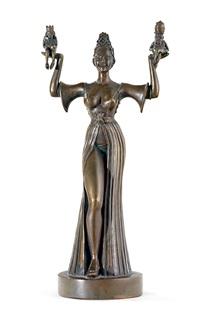 imperia-statue des konstanzer hafens by peter lenk