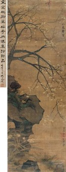 梅花水仙 (orchid and plum) by emperor huizong